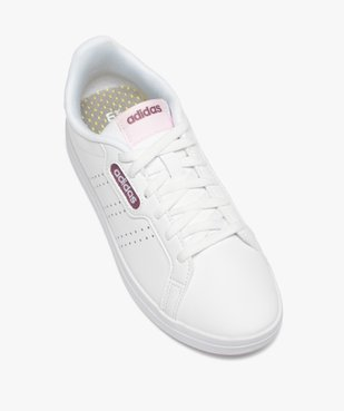 Tennis femme bicolores à lacets - Adidas vue5 - ADIDAS - Nikesneakers