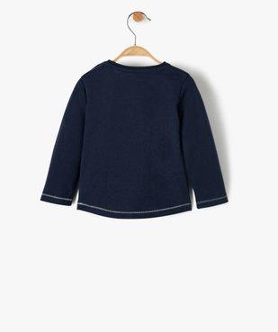 Tee-shirt bébé fille à motif pailleté – Lulu Castagnette vue3 - LULUCASTAGNETTE - GEMO