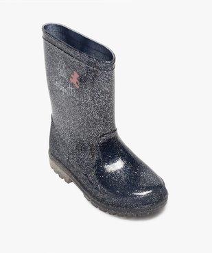 Bottes de pluie fille pailletées – LuluCastagnette vue5 - LULU CASTAGNETT - Nikesneakers