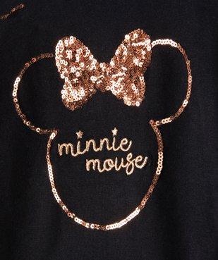 Tee-shirt fille avec motifs Minnie en sequins - Disney vue2 - MINNIE - GEMO