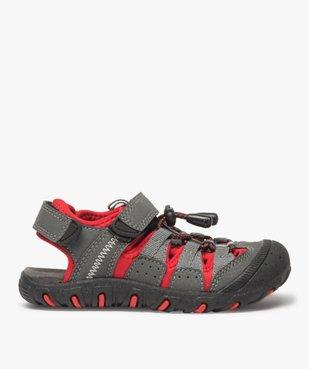 Sandales garçon multi-matières tout terrain vue1 - Nikesneakers (ENFANT) - Nikesneakers