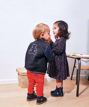 Robe bébé fille à motifs fleuris – Lulu Castagnette vue5 - LULUCASTAGNETTE - GEMO