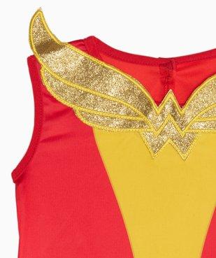 Déguisement fille Wonder Woman (2 pièces) vue3 - DC COMICS - GEMO