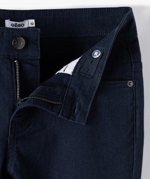 Pantalon garçon style jean slim 5 poches vue2 - GEMO (JUNIOR) - GEMO