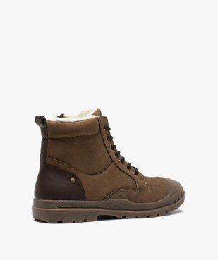 Boots garçon zippées à bout renforcé et col rembourré vue4 - Nikesneakers (ENFANT) - Nikesneakers