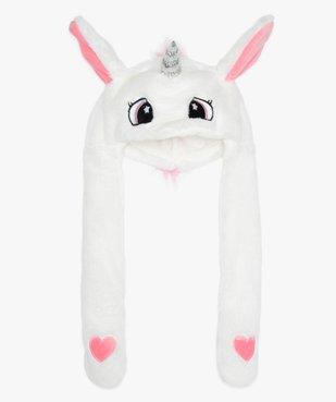 Bonnet fille à motif licorne avec longues pattes vue1 - Nikesneakers (ENFANT) - Nikesneakers