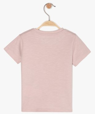 Tee-shirt bébé garçon imprimé - Lulu Castagnette vue3 - LULUCASTAGNETTE - GEMO