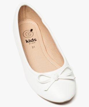 Ballerines fille unies à nœud décoratif vue5 - Nikesneakers (ENFANT) - Nikesneakers