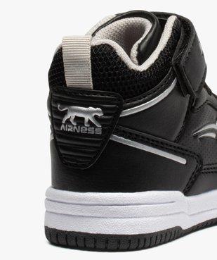 Baskets bébé semi-montantes à scratch - Airness Vito vue6 - AIRNESS - Nikesneakers