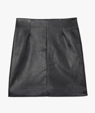 Jupe femme droite avec pinces à la taille vue5 - GEMO(FEMME PAP) - GEMO