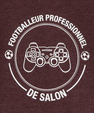 Tee-shirt garçon motif fantaisie football vue2 - SANS MARQUE - Nikesneakers