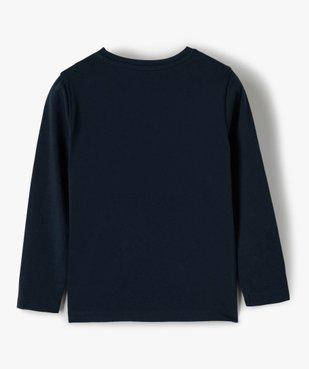 Tee-shirt garçon multicolore à manches longues - Lulu Castagnette vue4 - LULUCASTAGNETTE - GEMO