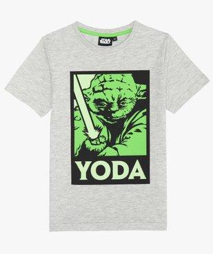 Tee-shirt garçon avec motif phosphorescent – Star Wars vue1 - STAR WARS - GEMO