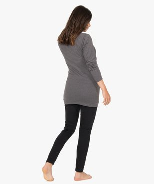 Pyjama de grossesse taille haute et manches longues vue3 - Nikesneakers (MATER) - Nikesneakers