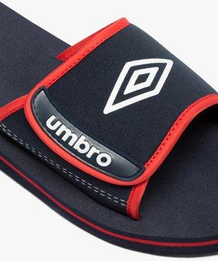 Mules de piscine garçon bicolores à scratch - Umbro vue6 - UMBRO - Nikesneakers
