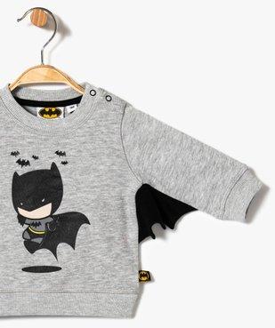 Sweat fantaisie Batman vue2 - BATMAN - GEMO
