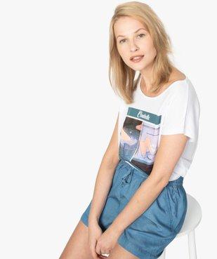 Tee-shirt femme Disney Princesses vue1 - DISNEY - GEMO