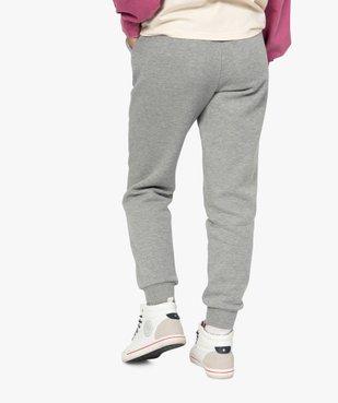 Pantalon de jogging femme en jersey molletonné - CAMPS vue3 - CAMPS UNITED - Nikesneakers
