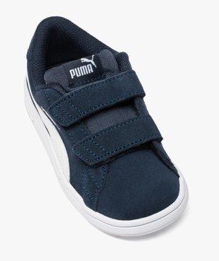 Basket bébé dessus cuir suédé à scratchs - Puma vue5 - PUMA - GEMO