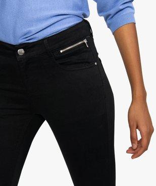 Pantalon femme coupe slim effet push-up vue2 - GEMO(FEMME PAP) - GEMO