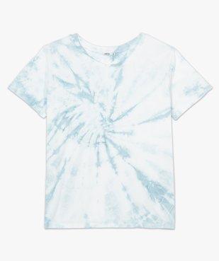 Tee-shirt femme à manches courtes oversize vue4 - GEMO(FEMME PAP) - GEMO