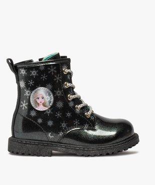 Boots fille pailletés à semelle crantée – Reine des Neiges vue1 - REINE DES NEIGE - GEMO