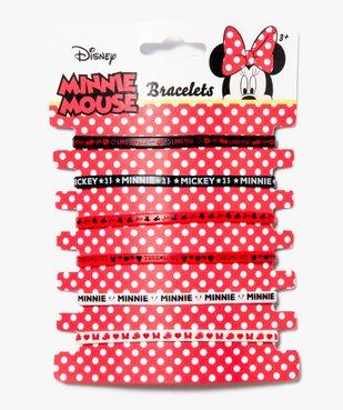 Bracelets  en caoutchouc Minnie - Disney vue1 - MINNIE - GEMO