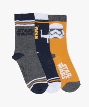 Chaussettes garçon à motifs (lot de 3) – Star Wars vue1 - STAR WARS - GEMO