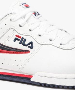 Baskets femme  avec empiècements bicolores - Fila vue6 - FILA - Nikesneakers
