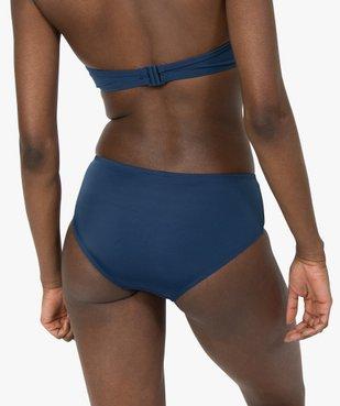 Bas de maillot de bain femme forme shorty vue2 - GEMO (PLAGE) - GEMO