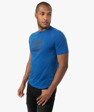 Tee-shirt homme à manches courtes à motif - Umbro vue1 - UMBRO - GEMO