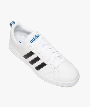 Basket homme à bandes contrastantes - Adidas VS Advantage vue5 - ADIDAS - GEMO