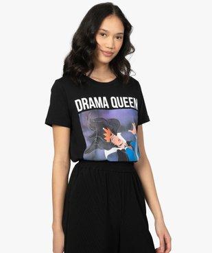 Tee-shirt femme Disney Villains vue1 - DISNEY - GEMO