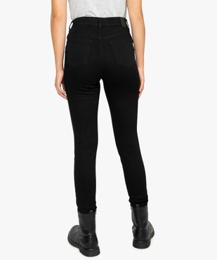 Jean femme coupe skinny taille haute vue3 - GEMO(FEMME PAP) - GEMO