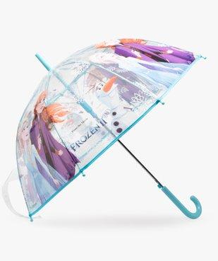 Parapluie enfant transparent imprimé La Reine des Neiges 2 - Disney vue1 - DISNEY - GEMO