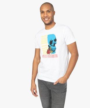Tee-shirt homme manches courtes imprimé - Guns n' Roses vue2 - GUNS N' ROSES - GEMO