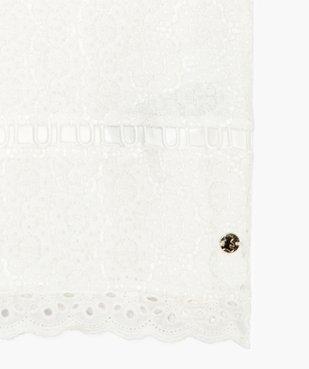 Tee-shirt fille en broderie - Lulu Castagnette vue3 - LULUCASTAGNETTE - GEMO