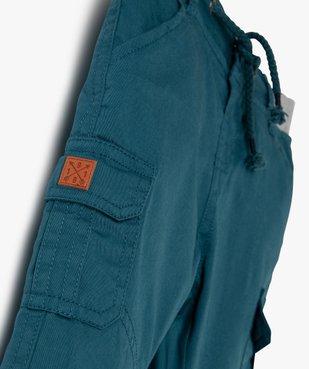 Pantalon bébé garçon coupe battle à revers et taille élastiquée vue2 - Nikesneakers(BEBE DEBT) - Nikesneakers