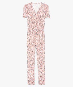Combinaison-pantalon femme à manches courtes vue4 - GEMO(FEMME PAP) - GEMO