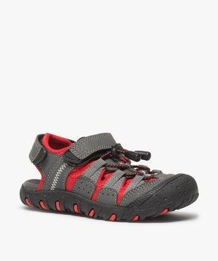 Sandales garçon multi-matières tout terrain vue2 - Nikesneakers (ENFANT) - Nikesneakers