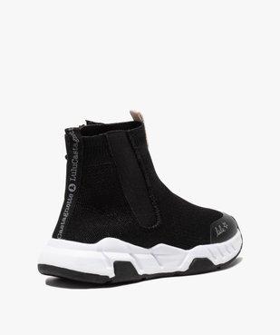 Baskets fille en forme de chaussettes - LuluCastagnette  vue4 - LULU CASTAGNETT - Nikesneakers