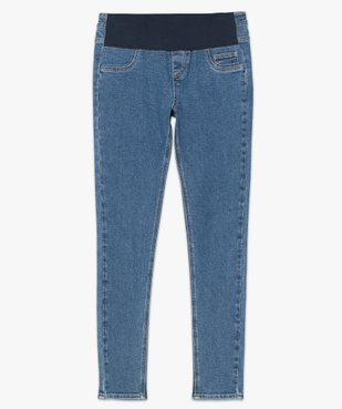 Jean grossesse coupe slim avec taille élastiquée vue4 - Nikesneakers (MATER) - Nikesneakers