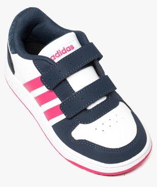 Basket bébé à tige basse tricolore - Adidas vue5 - ADIDAS - GEMO