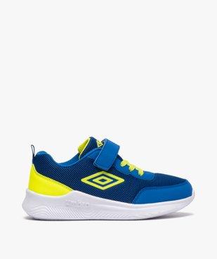 Chaussures de running garçon à lacets et scratch - Umbro vue1 - UMBRO - GEMO
