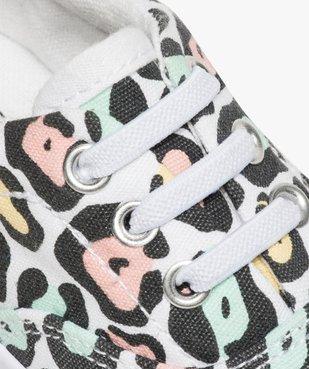 Tennis bébé fille en toile à motifs imprimés vue6 - GEMO(BEBE DEBT) - GEMO