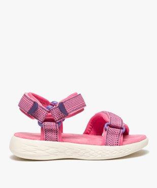 Sandales sport fille extra-légères à scratch vue1 - GEMO (ENFANT) - GEMO