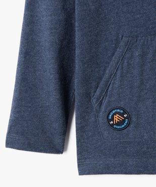 Tee-shirt garçon à manches longues et capuche vue3 - Nikesneakers (ENFANT) - Nikesneakers