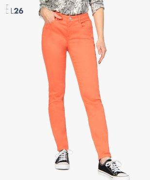 Pantalon femme coupe Slim taille normale - L26 vue1 - GEMO(FEMME PAP) - GEMO