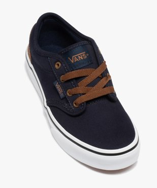 Baskets garçon skateshoes en toile - Vans Atwood vue5 - VANS - GEMO