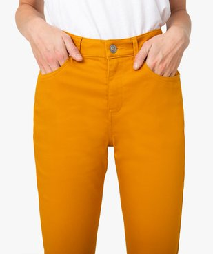 Pantalon femme coupe Regular - Longueur L26 vue2 - GEMO(FEMME PAP) - GEMO